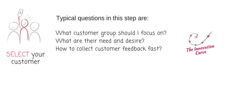 3. Innovation Curve - Select your customer